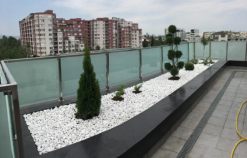 Тераса гр.София, Студентски град - след изпълнение